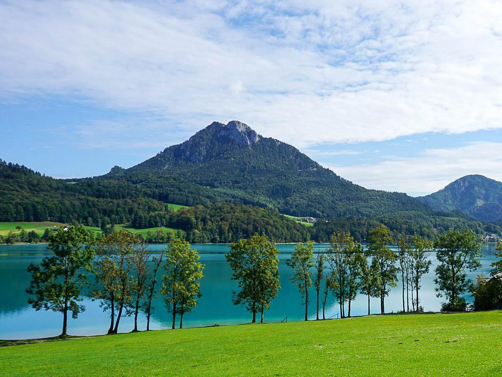 Schöne Herbst Ausflüge zu Seen rund um Salzburg