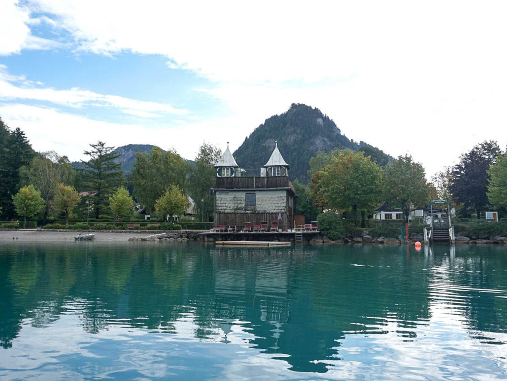 Bootshaus in Fuschl am See