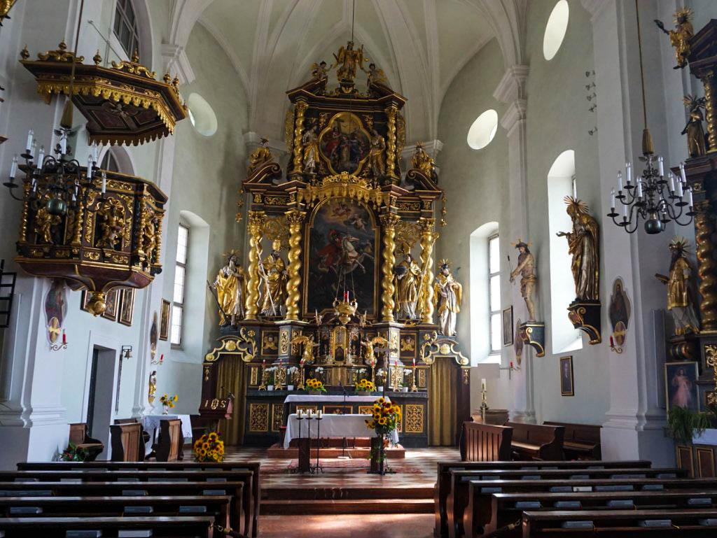 Pfarrkirche Bergheim Altar