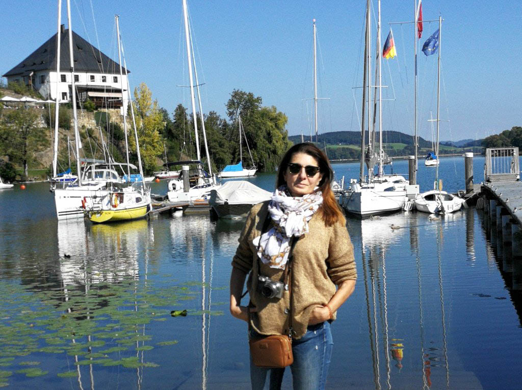 Bucht in Mattsee