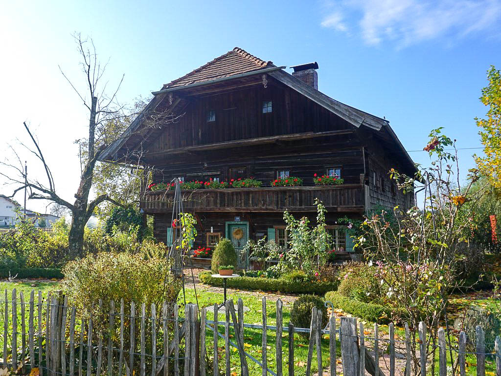 Altes Bauernhaus bei Maria Bühel