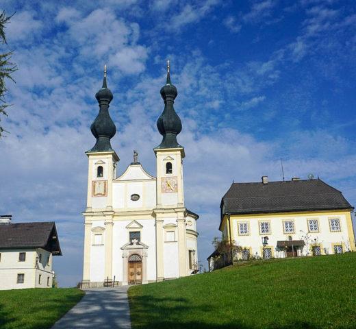 Wandern im SalzburgerLand; von Maria Bühel über Oberndorf nach Laufen