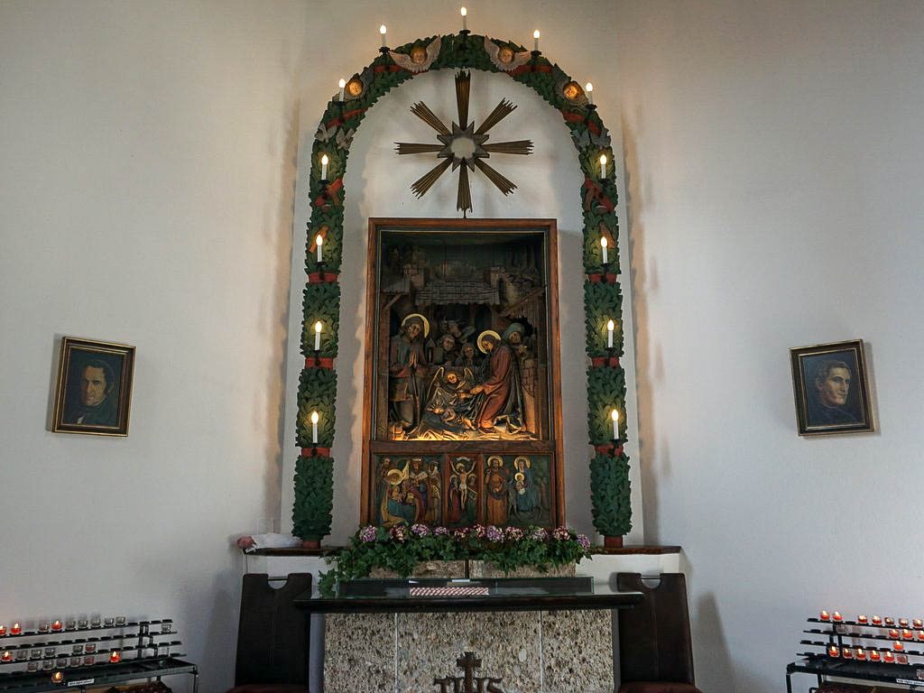 Altar Stille Nacht Kapelle