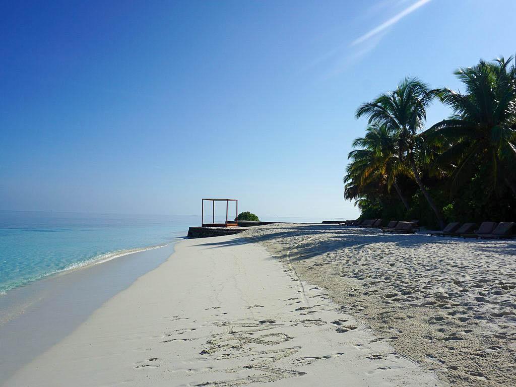 Strand auf Lily Beach