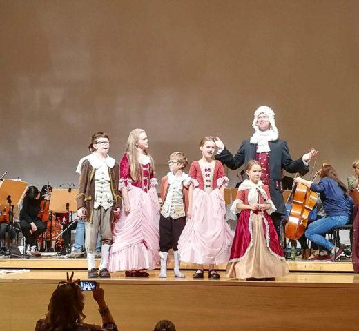Mit dem Enkel in den Kinderfestspielen der Philharmonie Salzburg