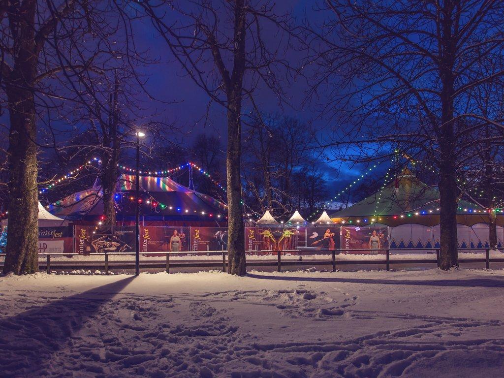 Winterfest 2018 außen