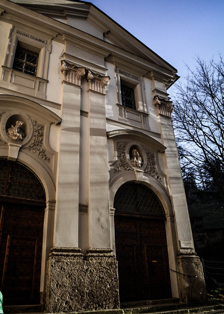 Eingang Müllner Kirche