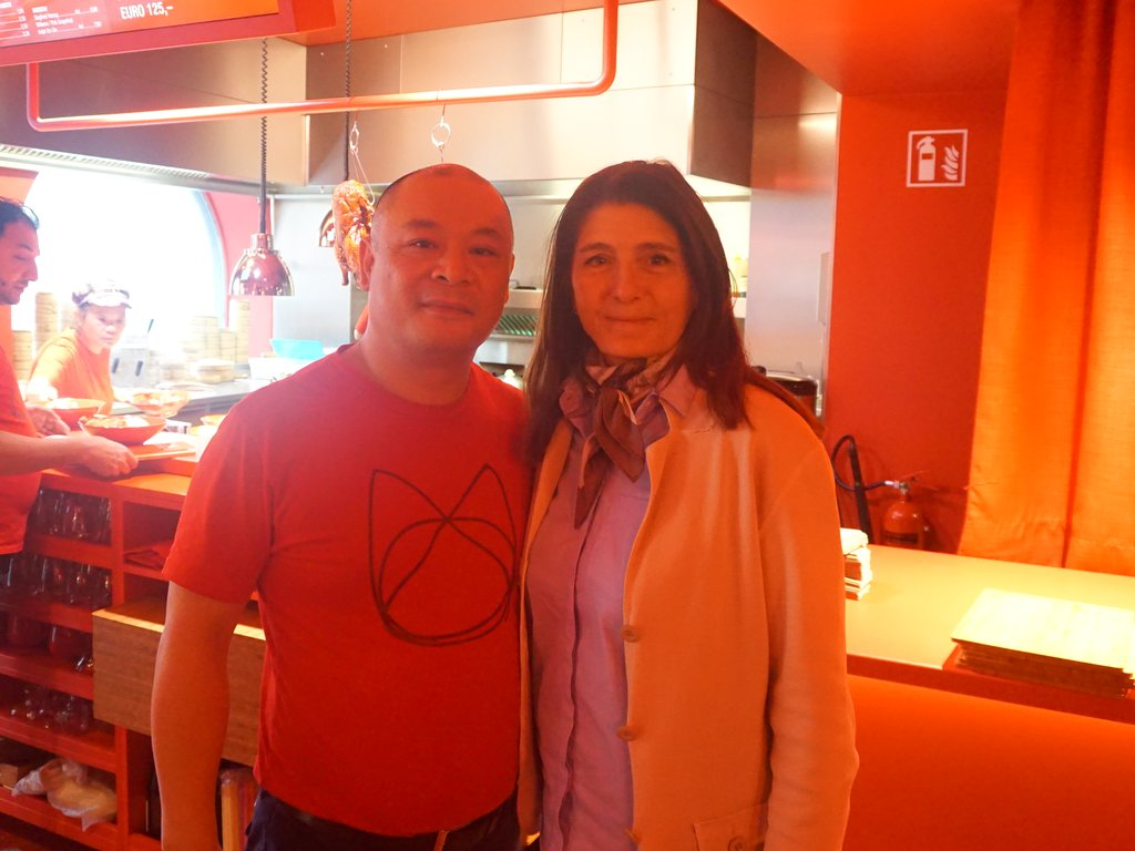 YaoYao hu und Claudia Braunstein