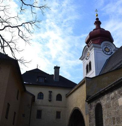 Bilder aus Salzburg; Spaziergang zum Stift Nonnberg