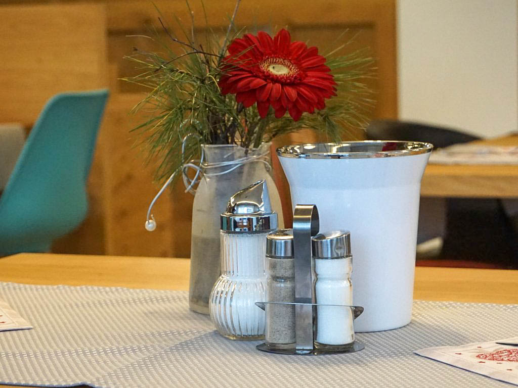 Tischdeko Frauenschuh