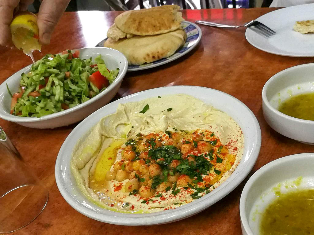 Hummus in Jaffa