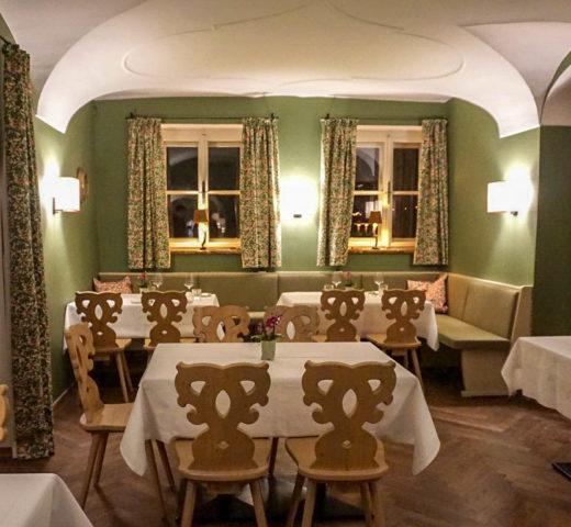 Restaurant Leopold im Gwandhaus, Kulinarik der feinen Art