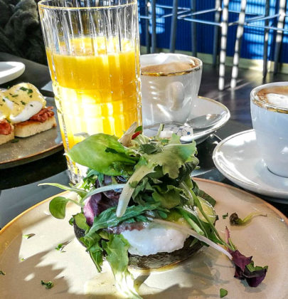 Frühstück in Salzburg, das Seven Senses im Hotel Stein