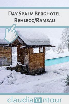 Außenpool Berghotel Rehlegg
