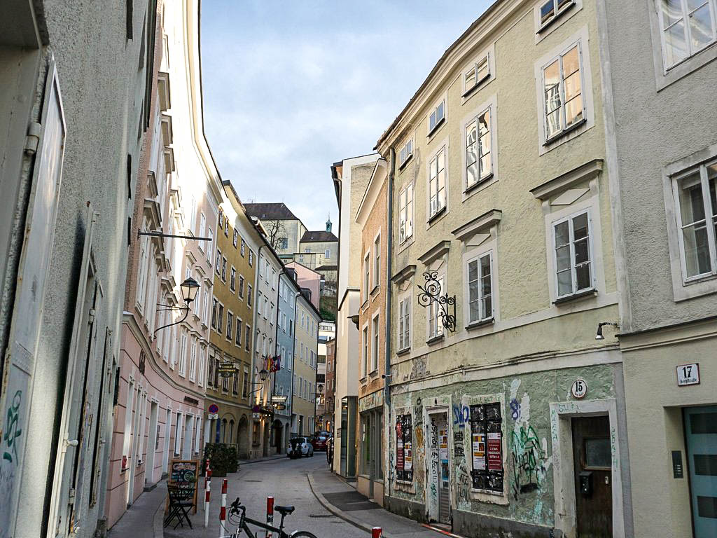 Bergstraße Salzburg