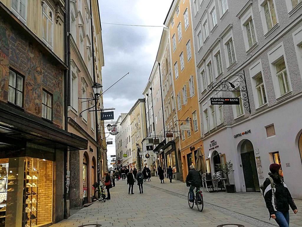 Linzergasse in Salzburg