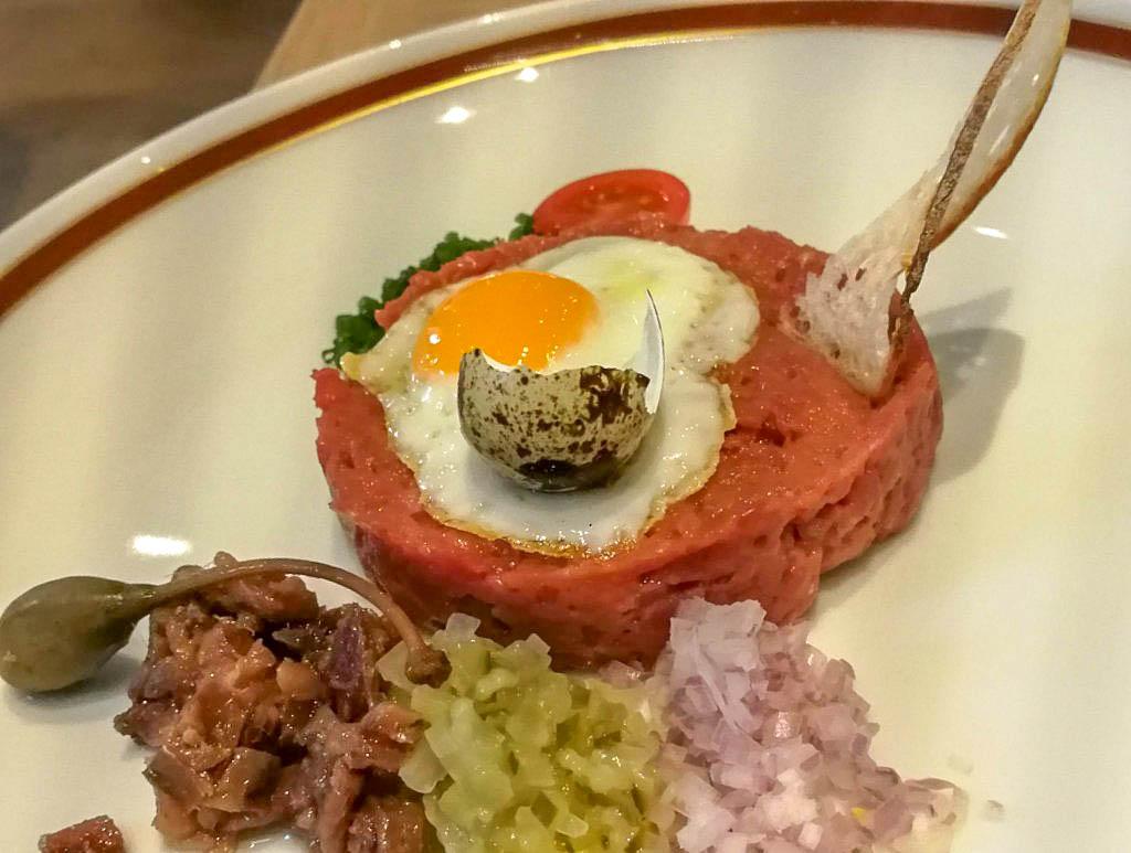 Sacher Grill Beef Tartar