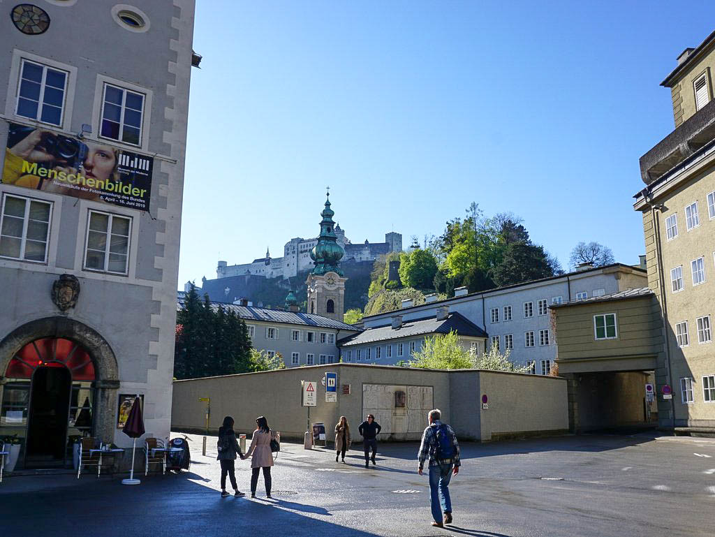 Sankt Peter Bezirk mit Franziskaner Kloster