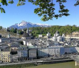 Bilder aus meiner Heimat, Frühlingsspaziergang durch Salzburg