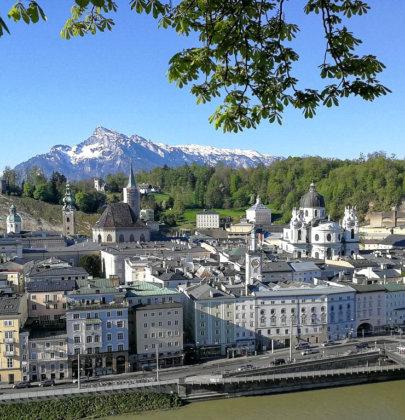 Frühlingsspaziergang durch Salzburg