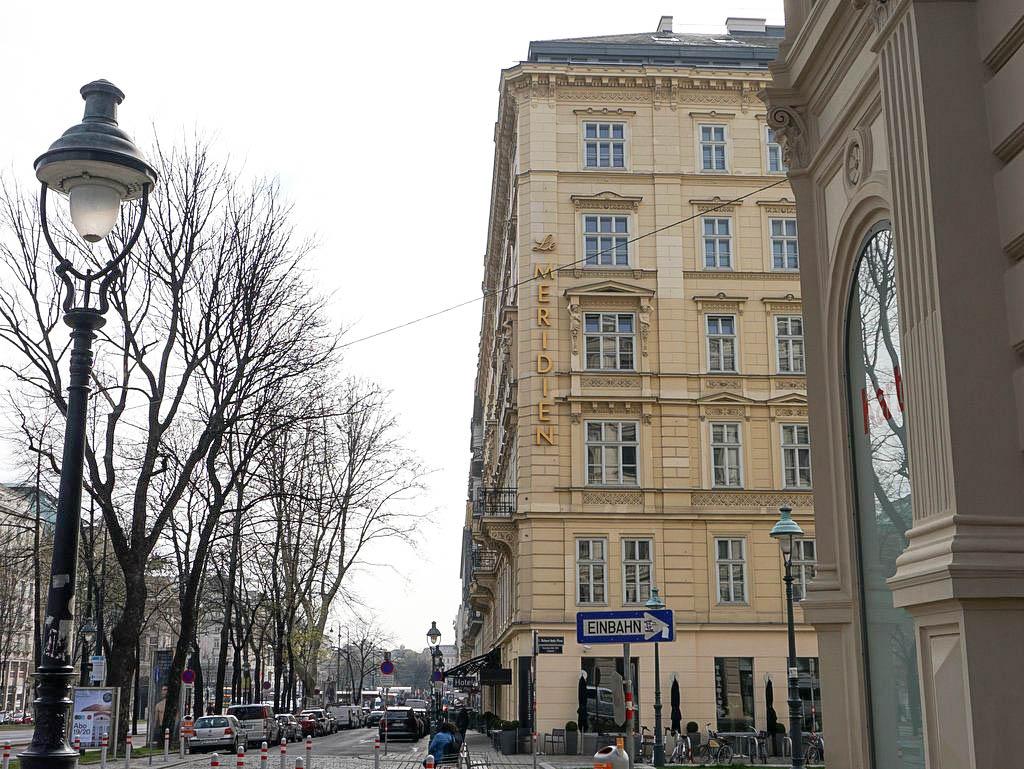Le Méridien Vienna Außenansicht