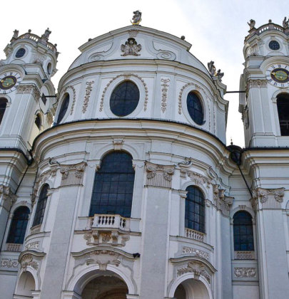 Bilder aus Salzburg; ein Rundgang durch die Kollegienkirche