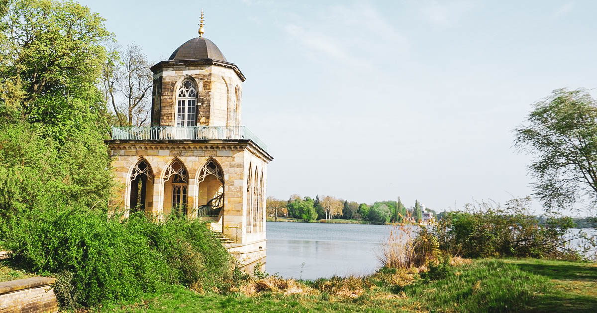 Mit dem Rad durch Potsdam und ein Blick auf die deutsche Vergangenheit