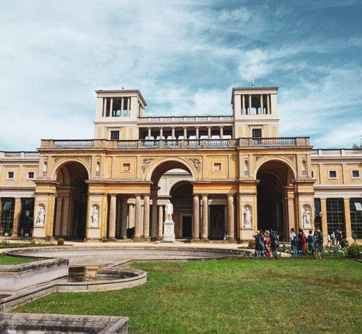 Ich bin in Sanssouci spazieren gegangen und habe Italien in Potsdam getroffen