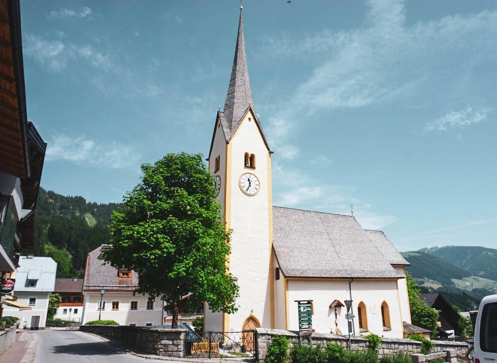 Kirche in Krimml