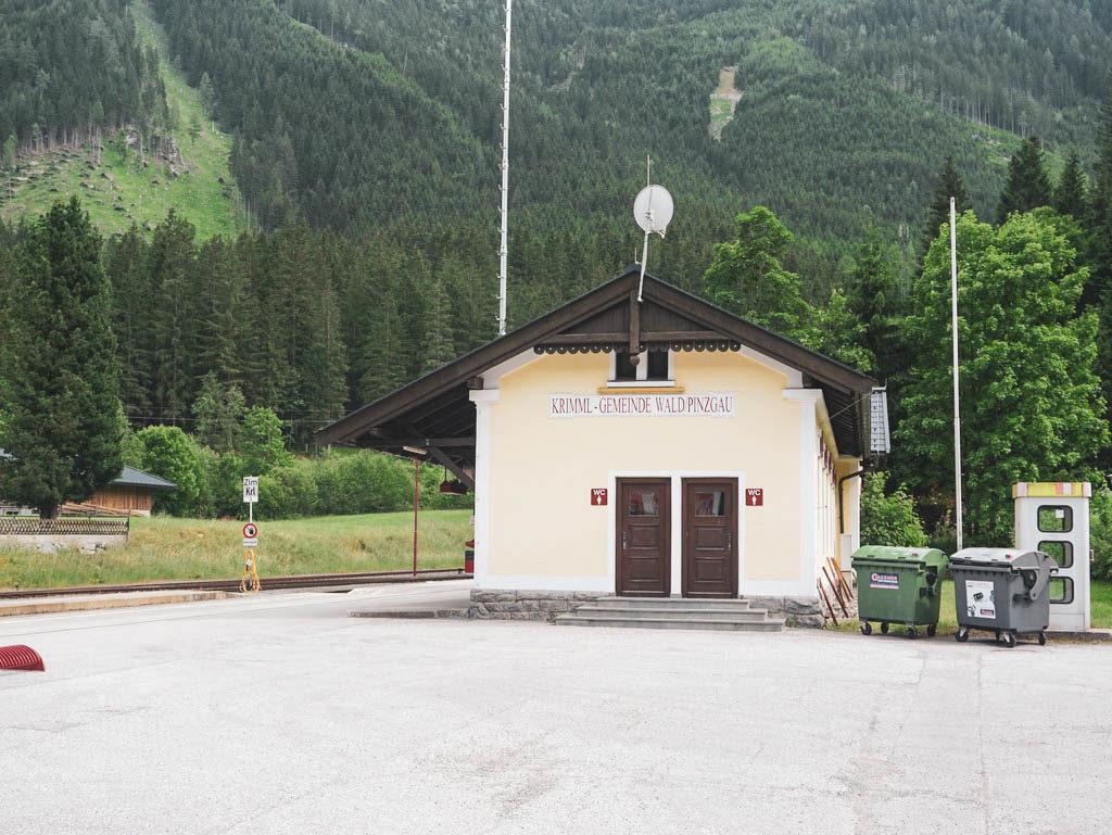 Bahnhof Krimml