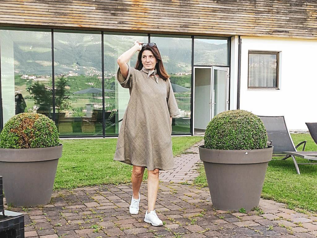 Claudia Braunstein im Bio Hotel Pazeider