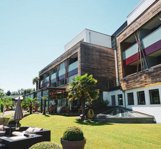 Kurzurlaub in Marling, das Bio und Wellness Hotel Pazeider