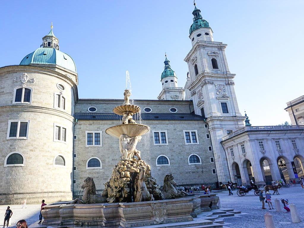Außenansicht Salzburger Dom