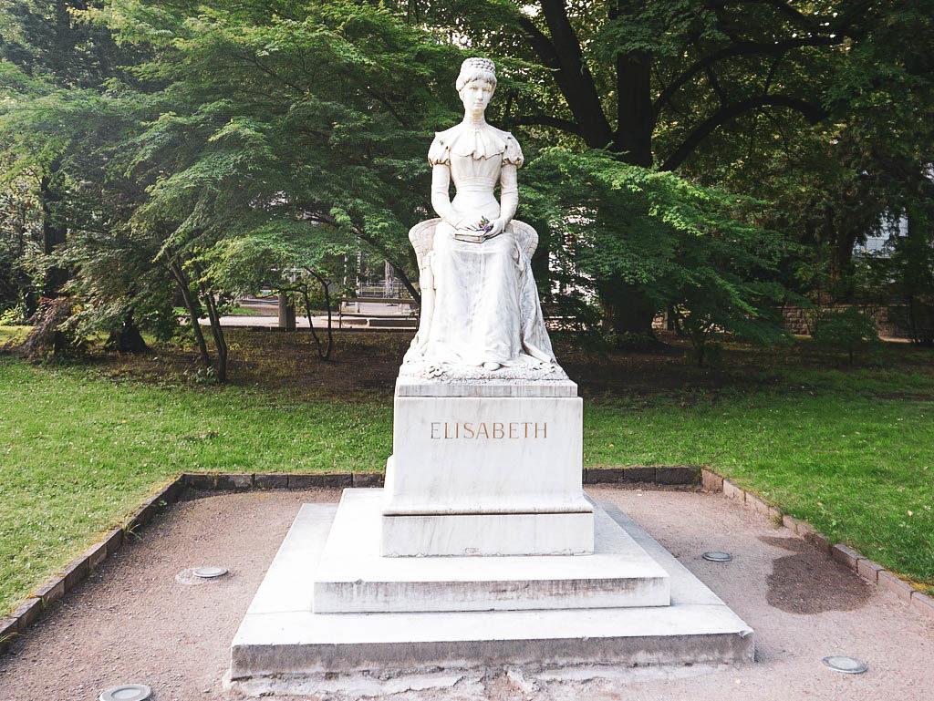 Sisi Statue in Meran