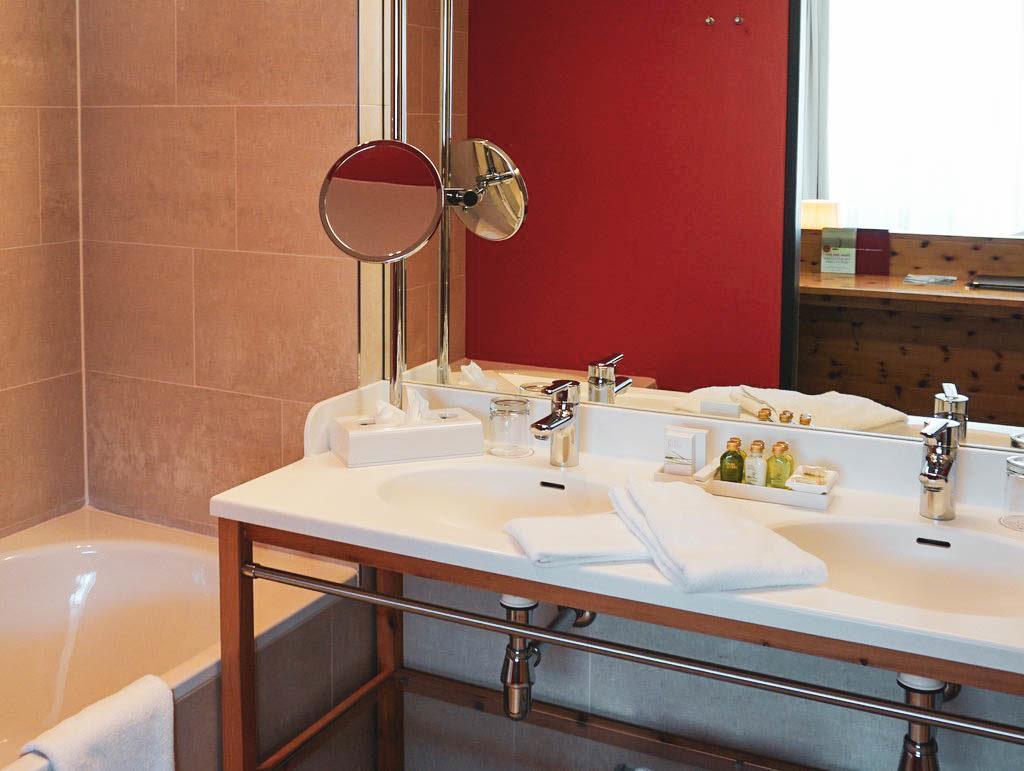 Badezimmer Panoramasuite