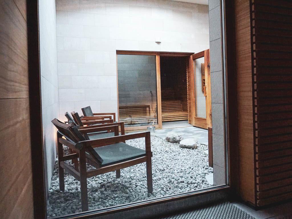 Sauna Aussenbereich