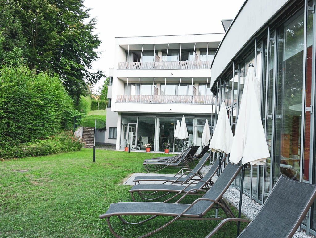 Liegewiese Villa Seilern