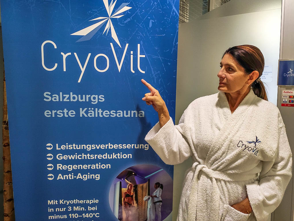 CryoVit Kältesauna in Salzburg