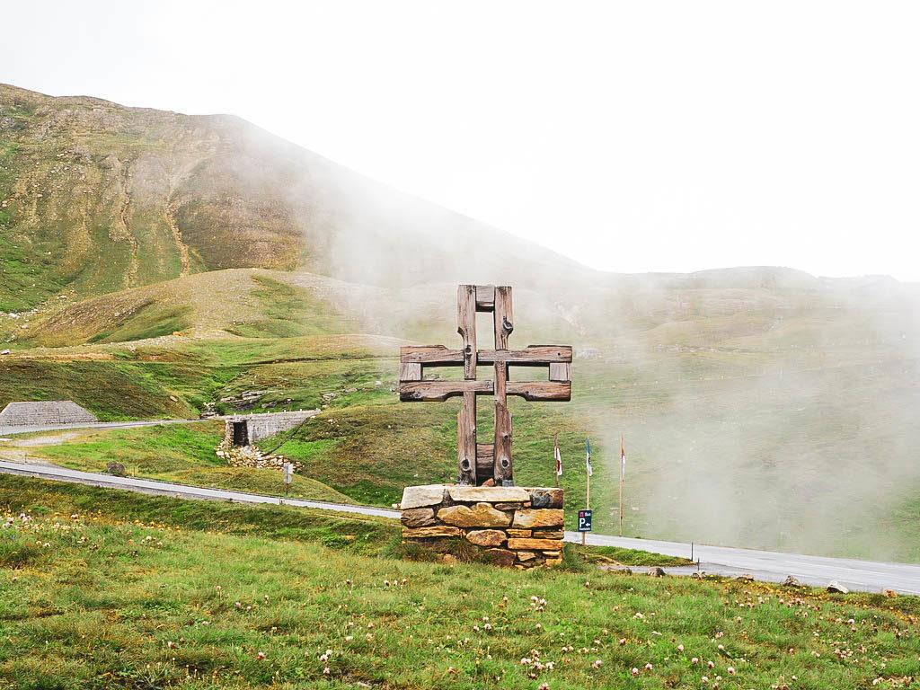 Kreuz aufer Großglockner Hochalpenstraße