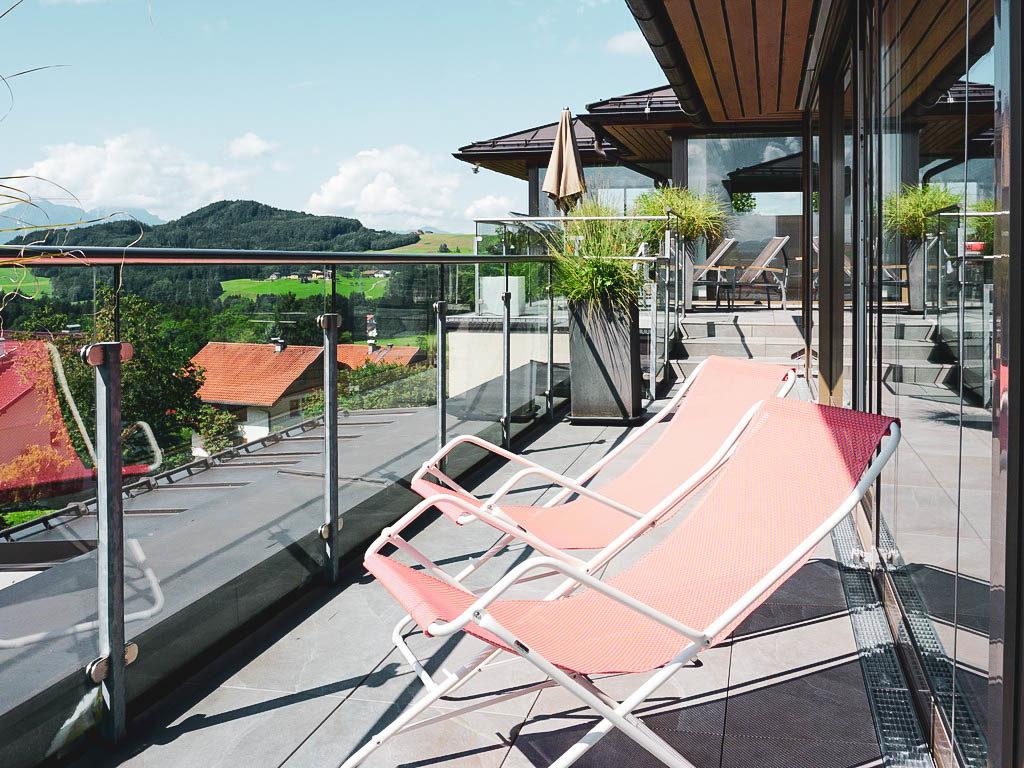 Terrasse Spa Gmachl Elixhausen