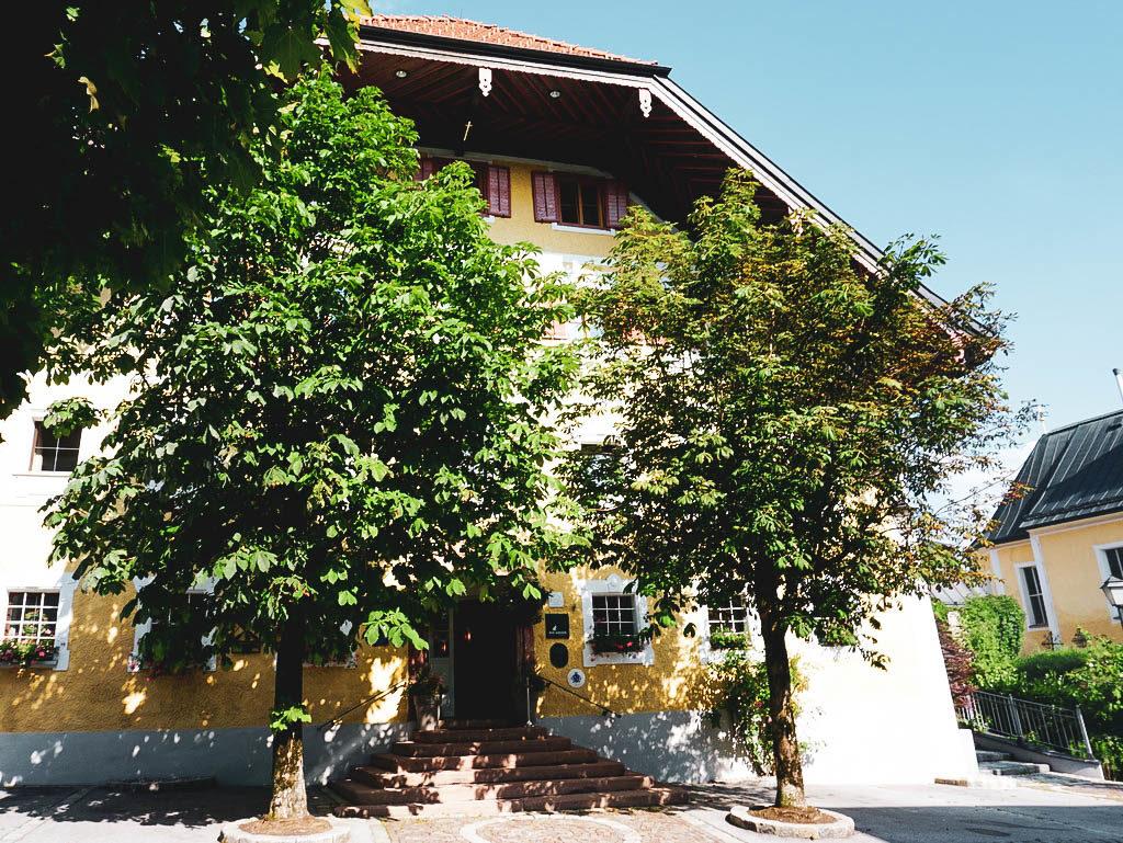 Romantikhotel Gmachl Elixhausen Außenansicht
