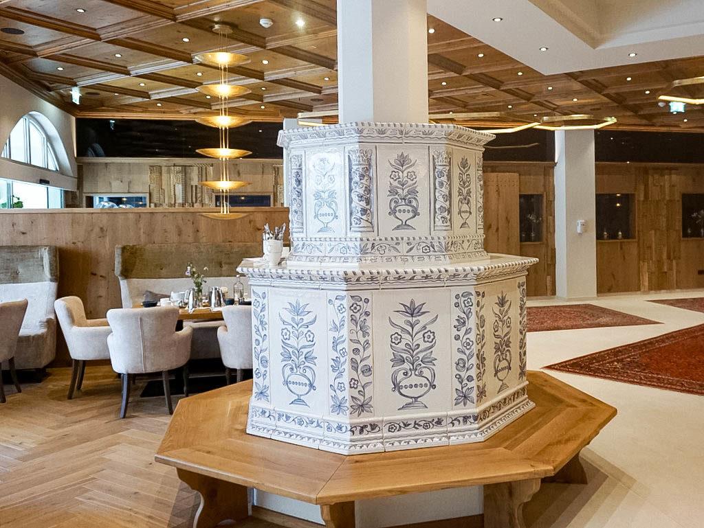 Kachelofen Hotel Edelweiss Großarl