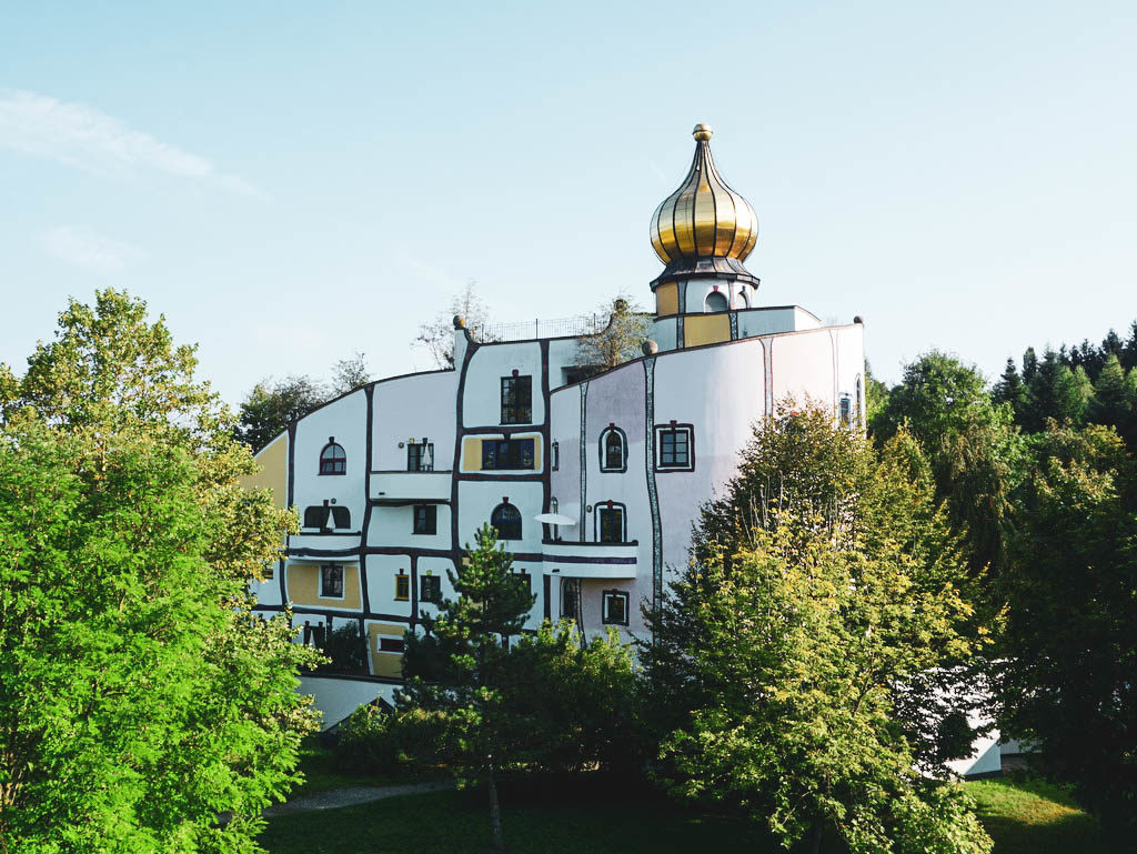Gebäude Rogner Bad Blumau