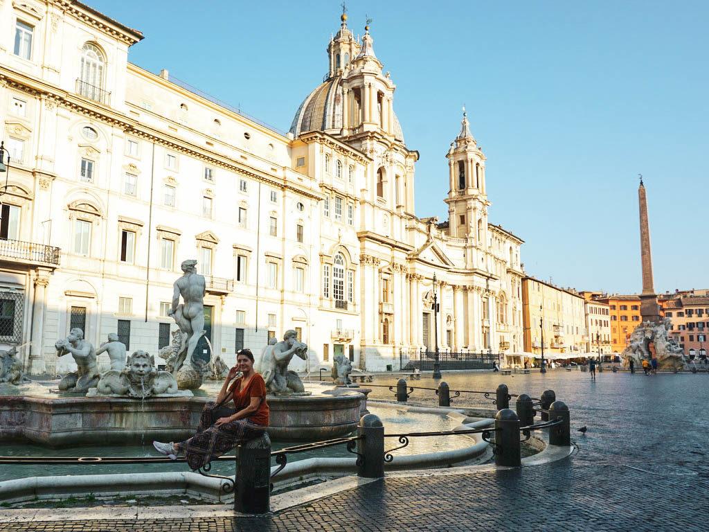Bernini Brunnen Piazza Navona