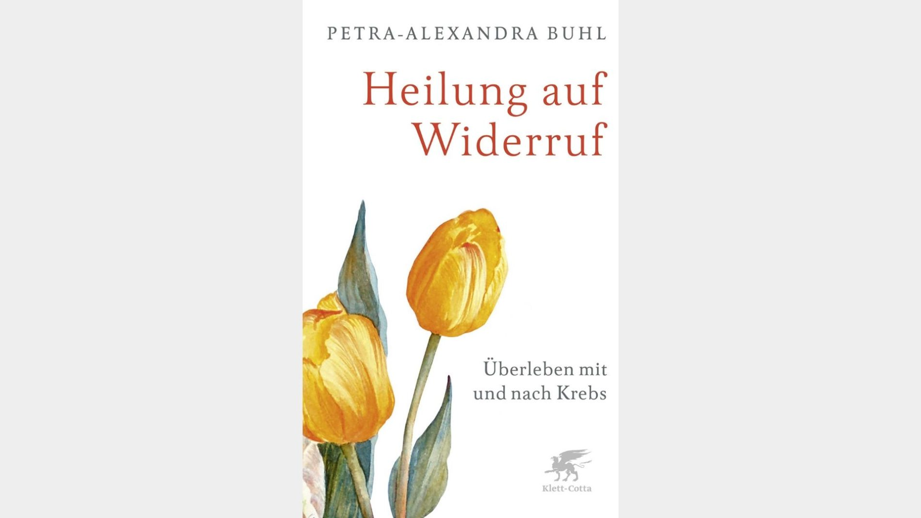 Buch Cover Heilung auf Widerruf