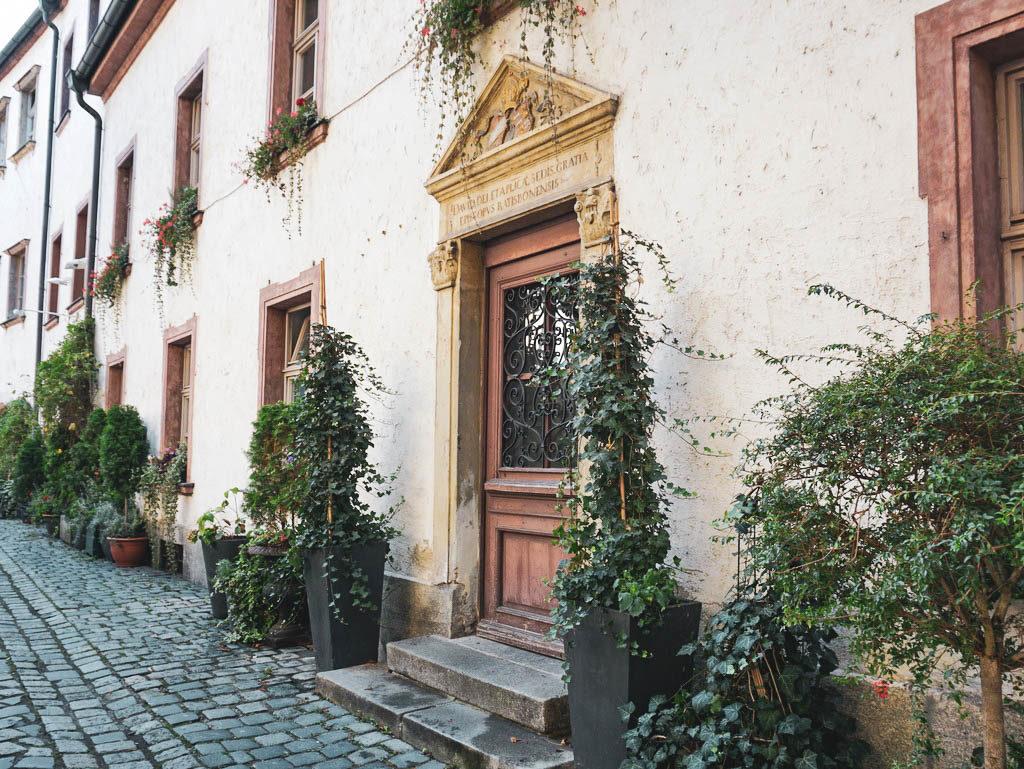 Haustüre in Regensburg