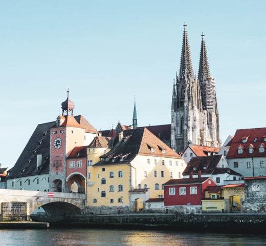 Von Regensburg bis Passau, auf den Spuren der Römer am  Donaulimes