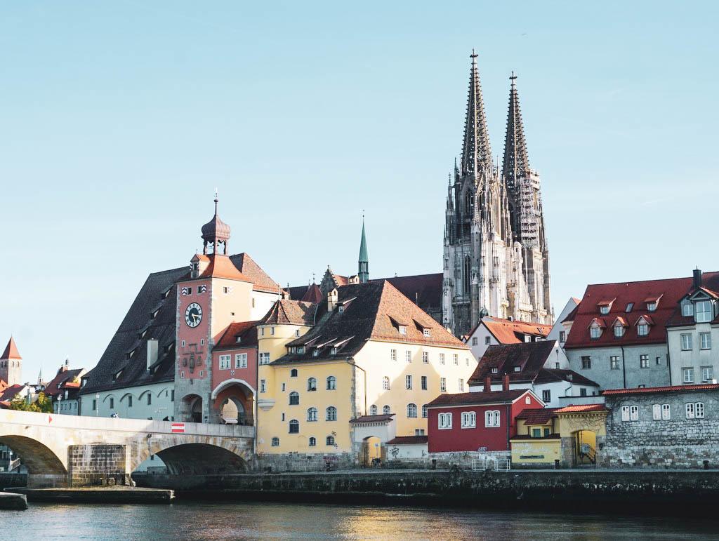 Stadtbild von Regensburg