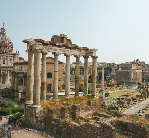 Das antike Rom und das römische Ghetto