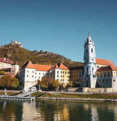 Unterwegs mit der A-ROSA Riva; Ausflug nach Dürnstein